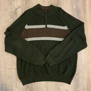 NWOT Half-zip pullover sweater